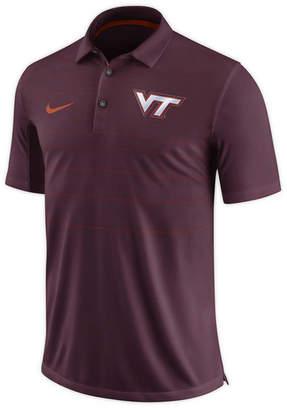 Nike Men's Virginia Tech Hokies Early Season Coach Polo