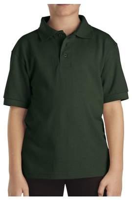 Dickies Boys Uniform Short Sleeve Pique Polo (Big Boys)