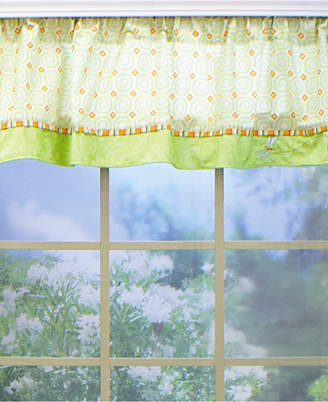 Nurture Geometric Dragonfly Window Valance