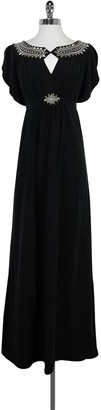 Alice by Temperley Black Embroidered Maxi Dress $165.99 thestylecure.com