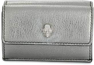 Alexander McQueen Skull mini folding wallet