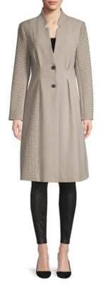 Joie Paiton Plaid Coat