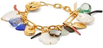Lizzie Fortunato Treasure Charm Bracelet - Womens - Multi