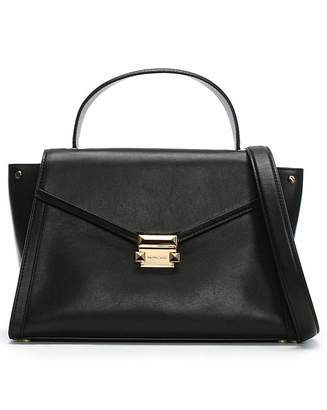 195ed03853bbde Michael Kors Leather Satchel Bags - ShopStyle UK