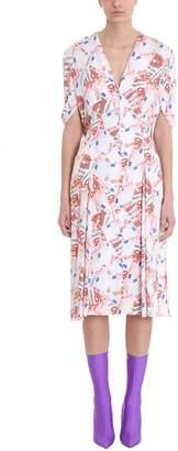 Balenciaga Money Print All Over Dress