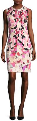 Roberto Cavalli Abstract Print Dress