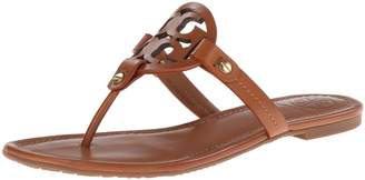 Tory Burch Miller Sandals 9 Poppy Orange