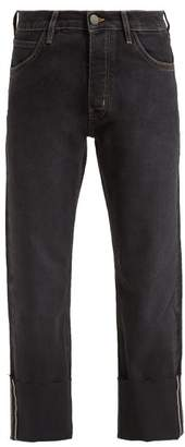 MiH Jeans Pheobe Low Rise Boyfriend Jeans - Womens - Black