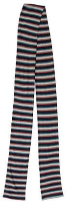 Marc by Marc Jacobs Wool Striped Scarf