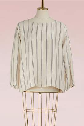 Forte Forte Flowing striped top