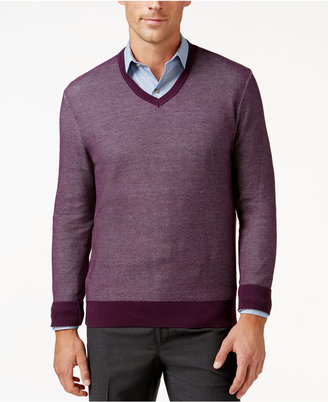 Michael Kors Men's V- Neck Sweater $128 thestylecure.com