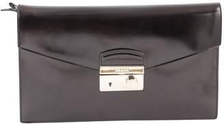 Prada Leather clutch bag