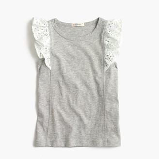 Girls' flutter-sleeve tank top $29.50 thestylecure.com