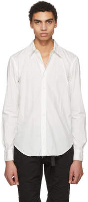TAKAHIROMIYASHITA TheSoloist. White Regular Collar Shirt