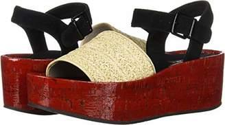 Kenneth Cole New York Women's Danton Platform Espadrille Sandal Wedge