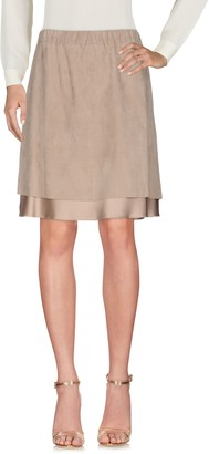 Brunello Cucinelli Knee length skirts - Item 35357030LH