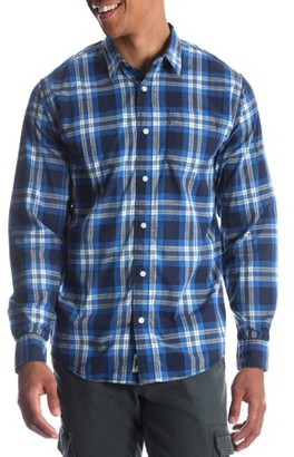 Wrangler Men's and Big & Tall Long Sleeve Plaid Shirt, up to Size 5XL