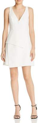 BCBGMAXAZRIA Tiered Crepe Dress