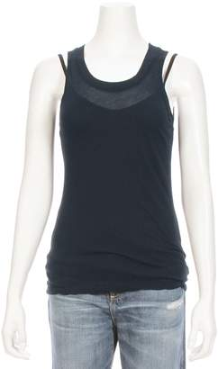 Monrow Sheer Double Layer Tank