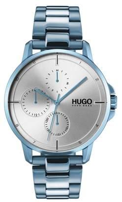 HUGO Focus Bracelet Watch, 42mm