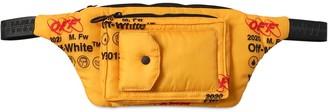 Off-White Off White Large Printed Nylon Industrial Belt Bag