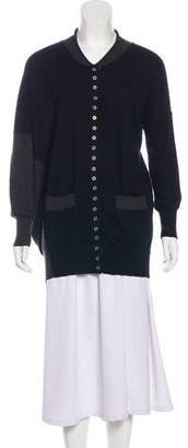 Yigal Azrouel Cashmere Button-Up Cardigan