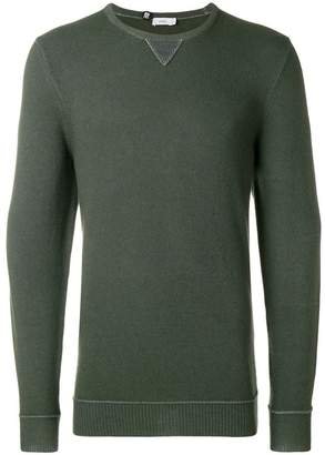 Closed crew-neck jumper