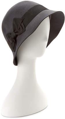San Diego Hat Company San Diego Hat Co. Women's Wool Charcoal Cloche