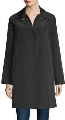Jane Post Hooded Raincoat
