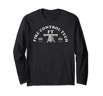 Navy Fire Control Technician Rating Badge Long Sleeve T-Shirt