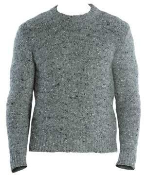 Eleventy Melange Wool, Alpaca& Silk Sweater