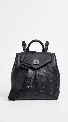 MCM Essential Visetos Original Small Backpack