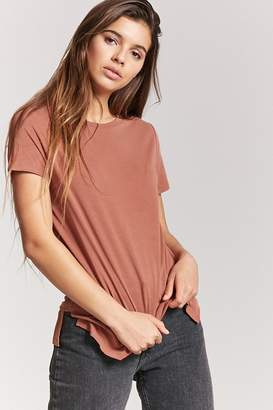 Forever 21 Vented High-Low Tee