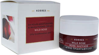 Korres 1.35Oz Wild Rose 24-Hour Moisturising & Brightening Cream