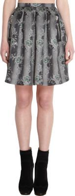 Christopher Kane Floral Skirt