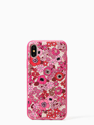 Kate Spade Jeweled cactus flower iphone x & xs case