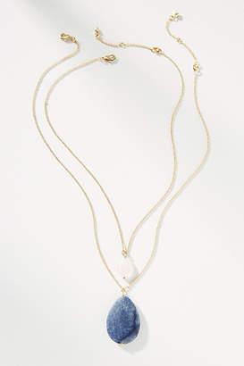 Anthropologie Darla Pendant Necklace Set
