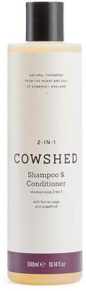2-In-1 Shampoo & Conditioner 300ml
