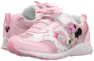 Josmo Kids Minnie Bow Sneaker Girl's Shoes