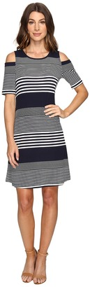 Christin Michaels - Huron Cold Shoulder Dress Women's Dress $69 thestylecure.com