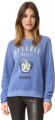 Wildfox Beverly Hills Academy Sweater $114 thestylecure.com
