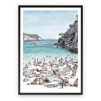 The Print Emporium European Cove Framed Art Print, Black Frame 30x42cm