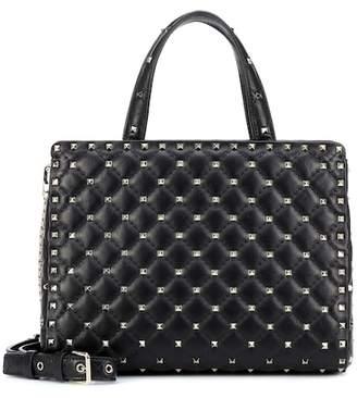 Valentino Rockstud Spike leather tote