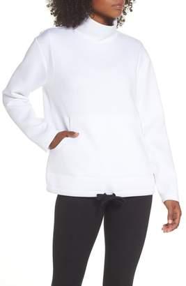 Zella All About It Funnel Neck Sweatshirt