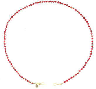 MONET JEWELRY Monet Jewelry Eyeglass Chain Womens Red Beaded Necklace