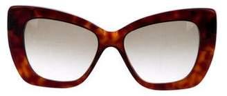 Cat Eye Cutler and Gross Gradient Cat-Eye Sunglasses