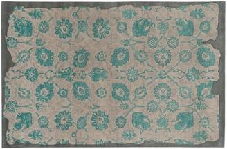 Pantone Universe UNIVERSE Color Influence Eroded Ornate Floral Rug