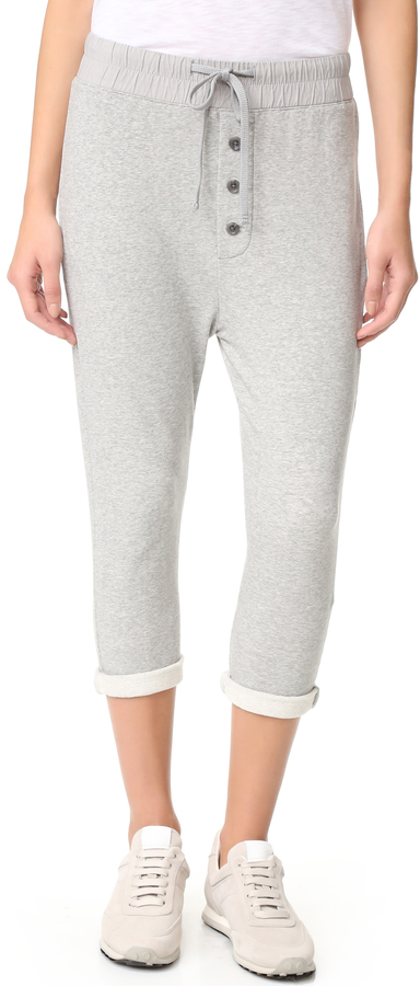 James Perse James Perse Slouchy Collage Sweatpants