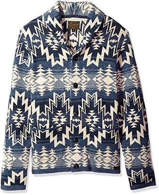Lucky Brand Men's Shawl Collar Cardigan Sweater