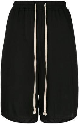 Rick Owens Lilies elasticated drawstring shorts